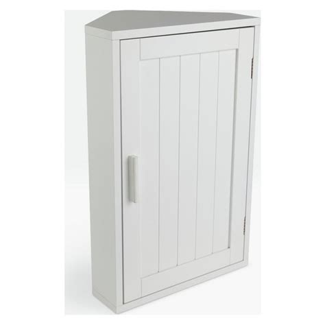 Corner Bathroom Cabinet White by Buy Home Wooden Corner Bathroom Cabinet White At Argos