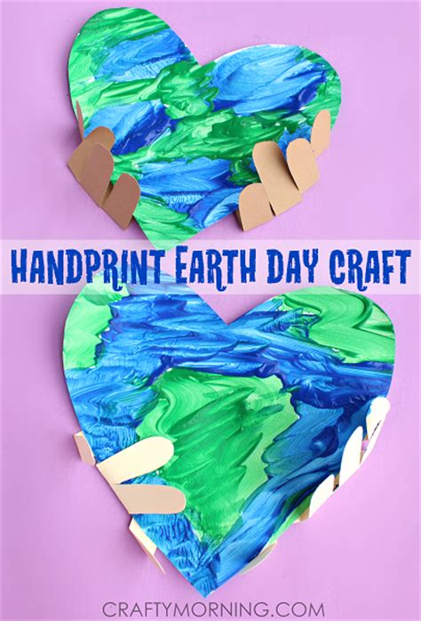 earth day craft for handprint earth day craft for crafty morning