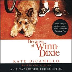 pictures of the book because of winn dixie because of winn dixie audio book cds unabridged