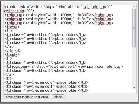 table html generator tool building an html table generator hb design