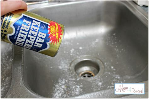 kitchen sink cleaning how to clean your stainless steel kitchen sink 4 real