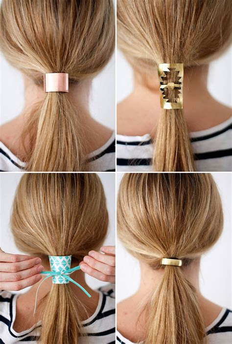 how to make hair jewelry 7 easy to make hair accessories the craftables
