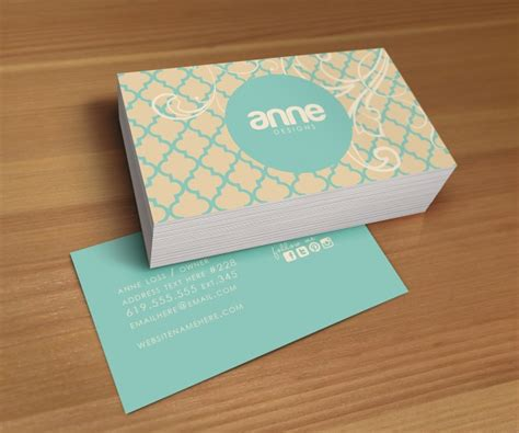 Sided Business Cards Free Ideas Business Cards Ideas