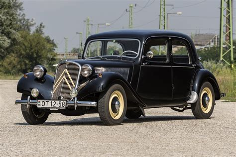 Citroen Traction by Fronthajt 225 S 250 Forradalm 225 R Citro 235 N Traction Avant Teszt