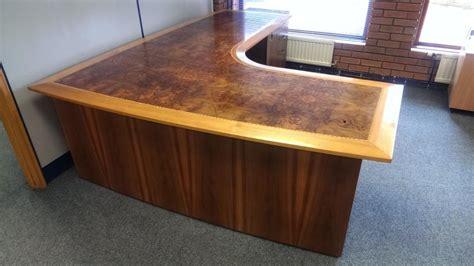 large corner desk antique large corner desk oak in glenfield