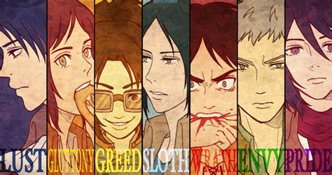 the seven sins snk seven deadly sins this seems pretty accurate