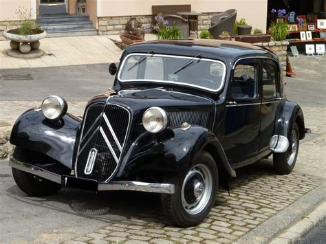 Citroen Traction by Citroen Traction In Ahn L 12 07 2015 Fahrzeugbilder De