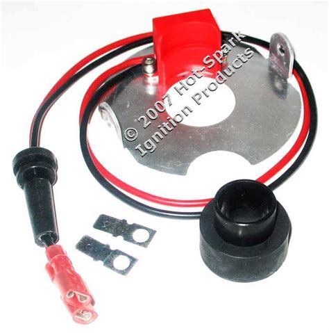 Electric Motor Distributors by Electronic Ignition Conversion Kits For 6 Cylinder