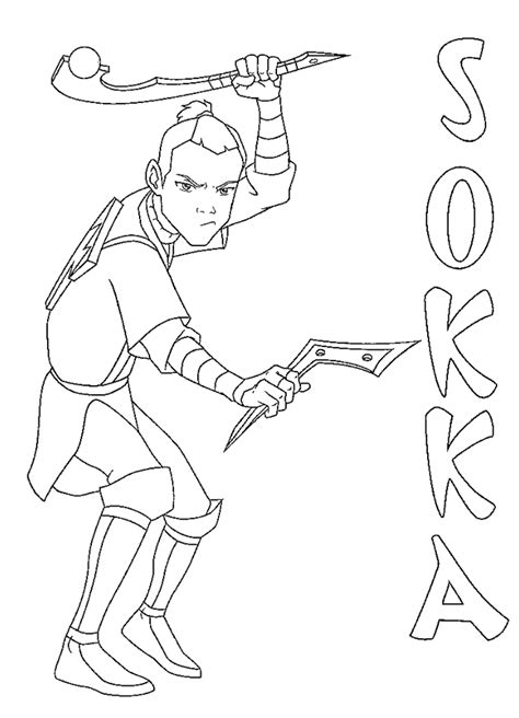 coloring page avatar coloring pages 13