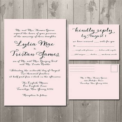 how to make rsvp cards for wedding wedding invitations and rsvp cards theruntime