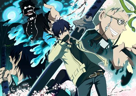 blue exorsist blue exorcist u s premiere hosted at anime expo