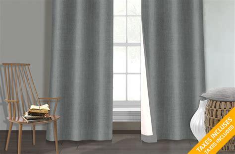tuango 39 99 pour un ensemble de rideaux coupe lumi 232 re 224 2 panneaux effet sign 233 s