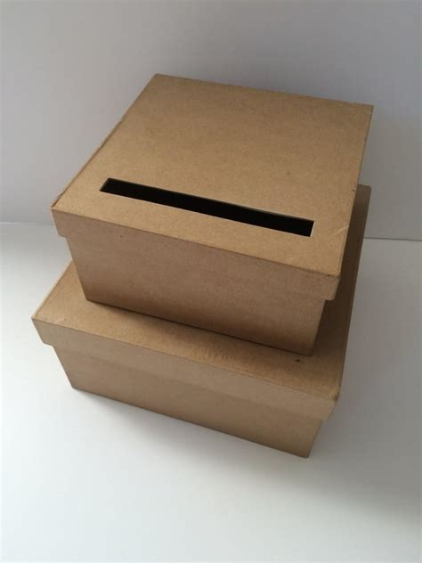 how to make a card box for a wedding diy wedding card box rustic wedding card holder gift
