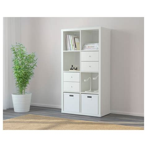 white shelving unit kallax shelving unit white 77x147 cm ikea