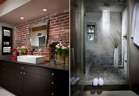 industrial style bathroom fixtures 10 fabulous bathrooms with industrial style