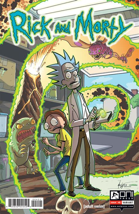 rick and morty volume 6 rick and morty 4 issue