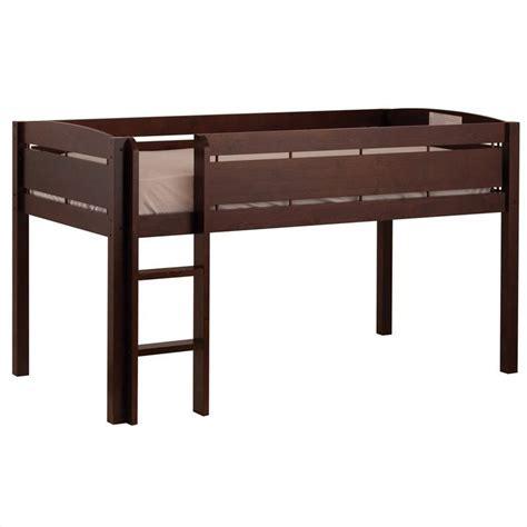 canwood whistler junior loft bunk bed in espresso 2131 9