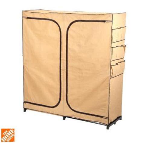 honey can do door storage closet honey can do 60 in door storage closet with shoe