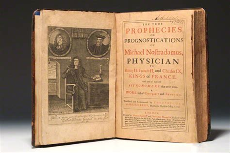picture books for predictions top three predictions by nostradamus that came