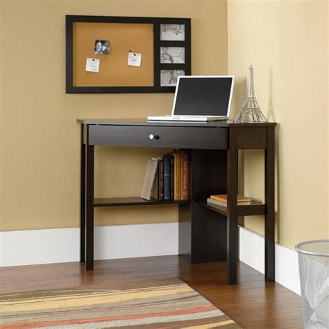 small cherry computer desk sauder beginnings corner computer desk cinnamon cherry