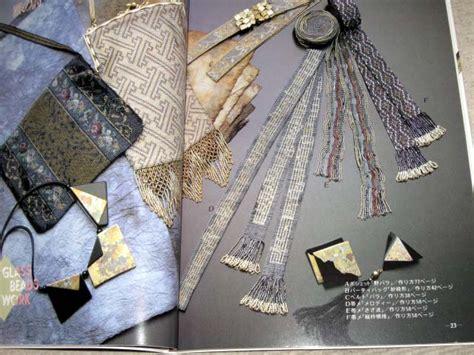 japanese bead weaving japanese bead craft book 06b glass bead weaving ebay