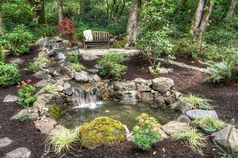 backyard decorating ideas for marvelous backyard ponds decorating ideas