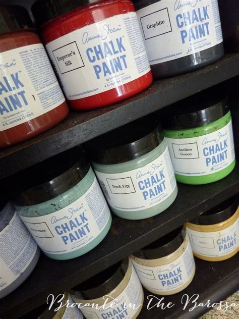 chalk paint in australia chalk paint by sloan sle jars brocante in the