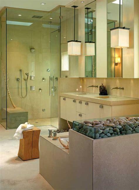 Spa Style Bathroom by 23 Spa Style Master Bathrooms