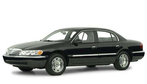 2000 lincoln continental pictures