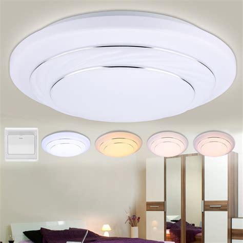 bright kitchen light fixtures 24w led ceiling bright light l flush mount