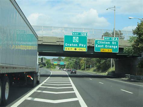 Garden State News Tappan I 280 Eastbound R To Garden State Parkway Interchange