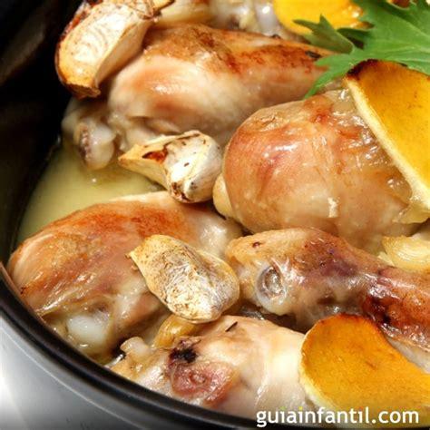 juegos de cocina con la abuela pollo al ajillo receta de la abuela