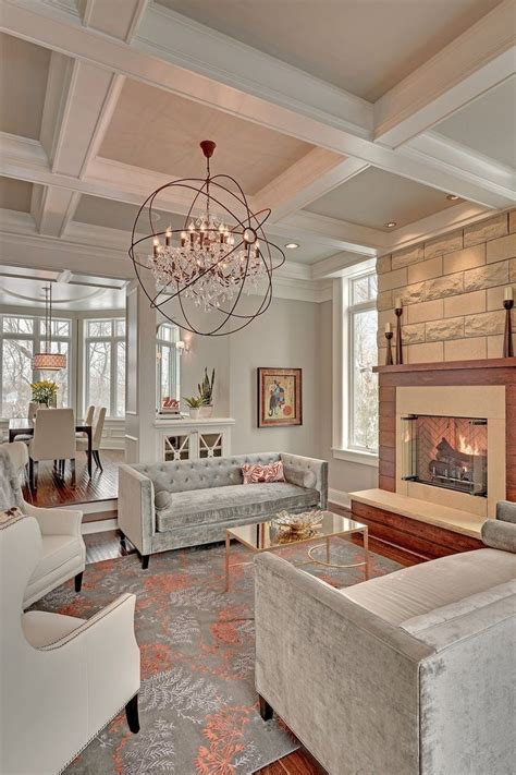 ceiling lights for room add personality to your interior with a coffered ceiling