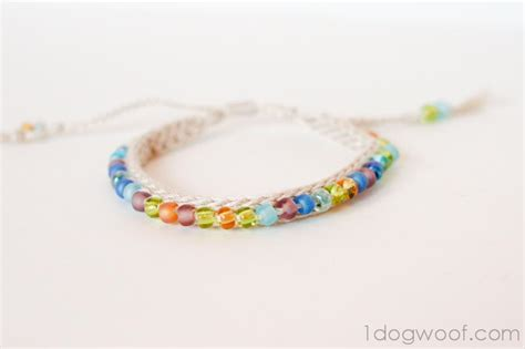crochet beaded bracelet pattern beaded friendship bracelet favecrafts