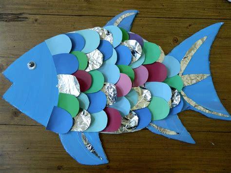 fish craft ideas for the vintage umbrella rainbow fish