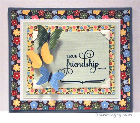 friendship cards for to make true friendship card with layers hop