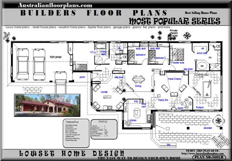 Home Blueprints For Sale blueprints acreage house home floor plans australian house