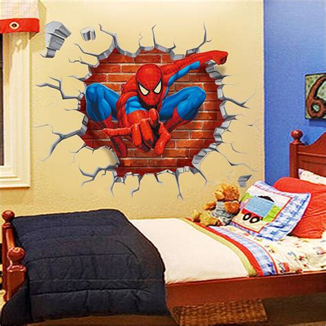 personalized wall decals for rooms wall sticker baby room stickers spider