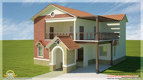 modern house plan 5 beautiful modern contemporary house 3d renderings kerala home design and floor plans
