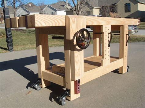 woodwork bench design 17 best ideas about workbench plans on