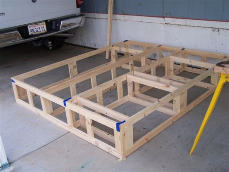 king bed frame with drawers plans woodwork king size bed frame plans with drawers pdf plans