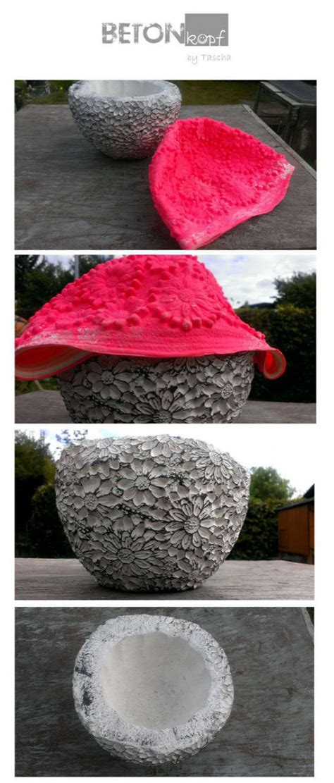 concrete craft projects diy concrete decor ideas for your home and garden