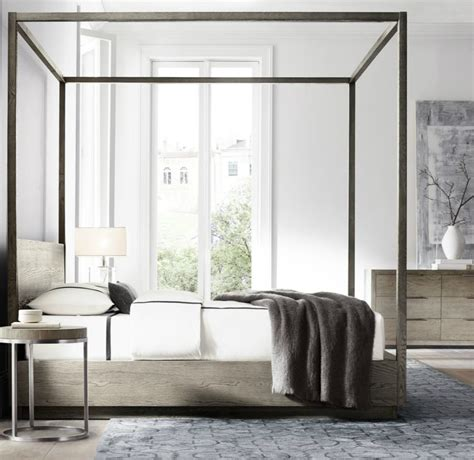 modern canopy bed frame high end beds for a winter s nap