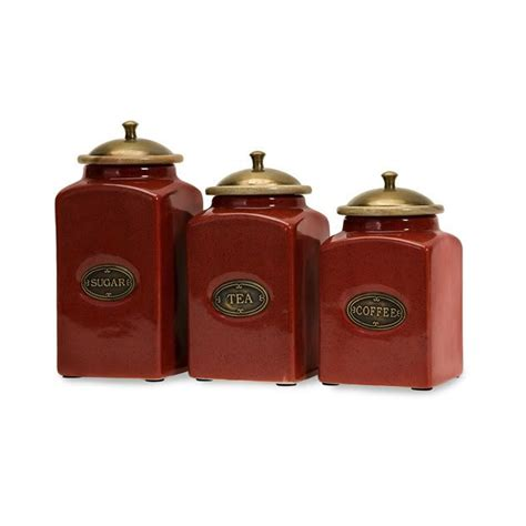 ceramic kitchen canister sets country s 3 canister set ceramic kitchen tuscan new