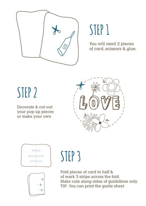 how to make a pop out card step by step pop out mothers day card trulymadlykids co uk