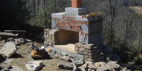 fireplace plan 12 outdoor fireplace plans add warmth and ambience to
