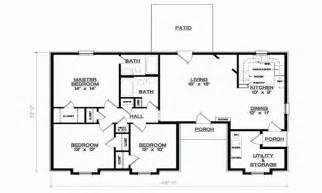 simple 3 bedroom house plans 3 bedroom 1 floor plans simple 3 bedroom house floor plans