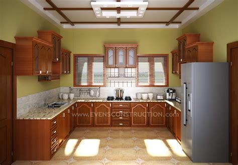 kitchen design kerala houses evens construction pvt ltd kerala kitchen with wooden