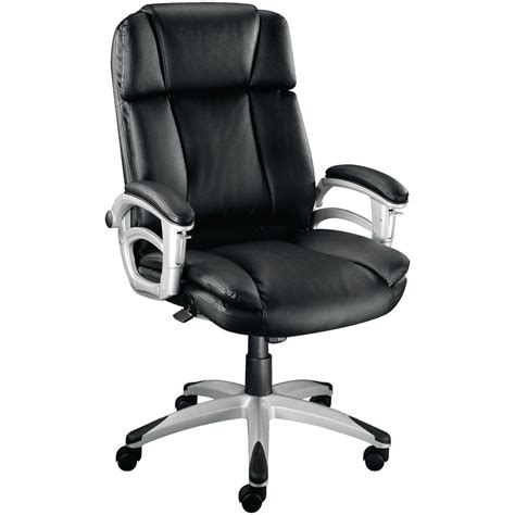 staples office furniture chairs staples warner executive leather faced chair black
