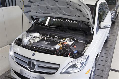 Electric Motor Class by Breaking Mercedes B Class Electric Drive Priced From